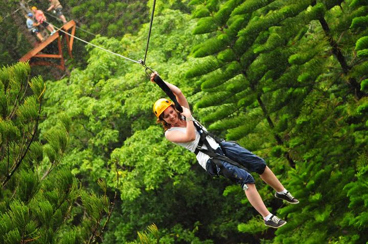 Kauai zipline tours
